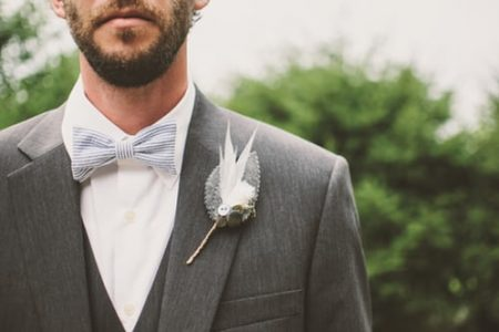 Vlinderdas bruiloft